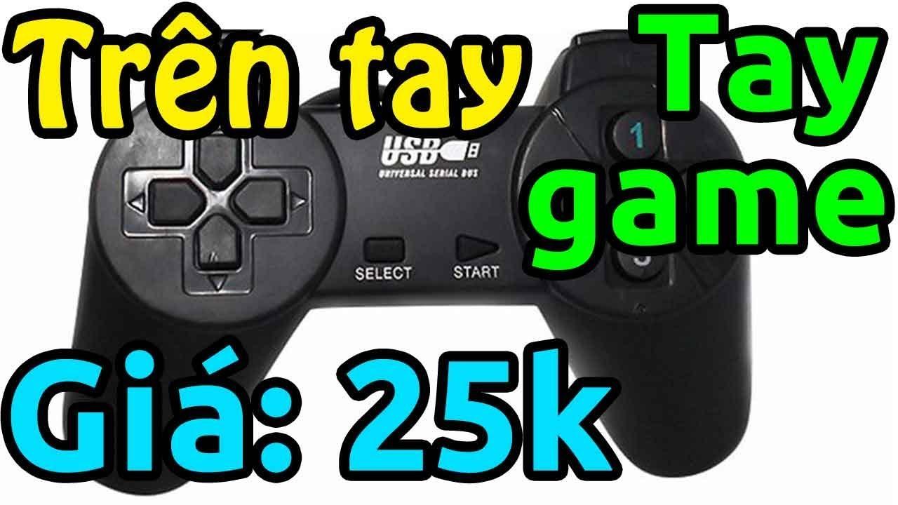 Mở hộp tay cầm chơi game (gamepad) giá 25k