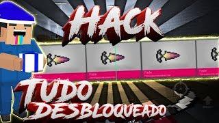 Block Strike Hack De Open Case, Ganhei Sorte?   TENTE NÃO RIR