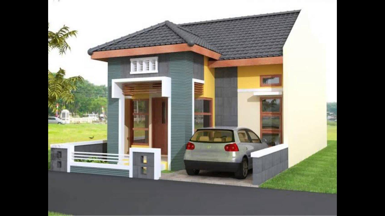 Trend Model Rumah Minimalis Atap Asbes Youtube