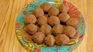 Готовим дома: Безумно Вкусные Шоколадные Трюфели/Легко и Просто