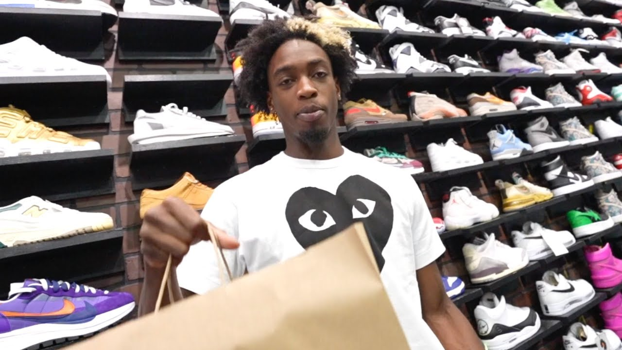 Zaire Wade Goes Shopping For Sneakers with CoolKicks