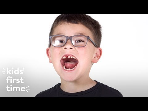 Kids Lose Their Tooth for the First Time | Kid's First Time | HiHo Kids