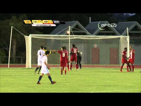 OFC PRESIDENTS CUP | GRAND FINAL FULL MATCH REPLAY | AUCKLAND CITY vs AMICALE FC