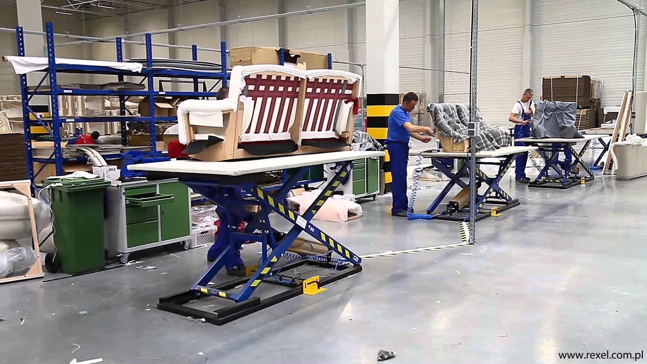 Upholstery lifting workbench rexel st 3 youtube - Mesa de centro giratoria ...