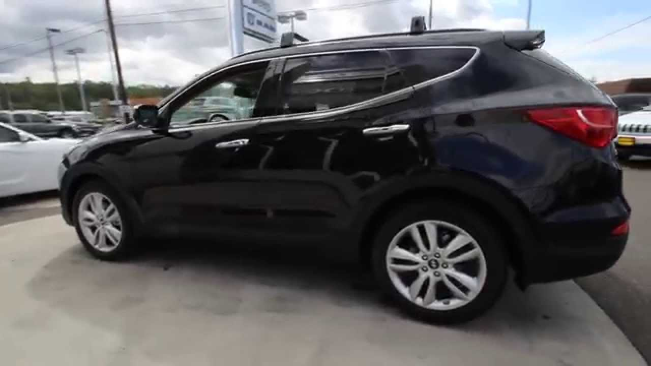 2016 Hyundai Santa Fe Sport 2 0l Turbo Twilight Black