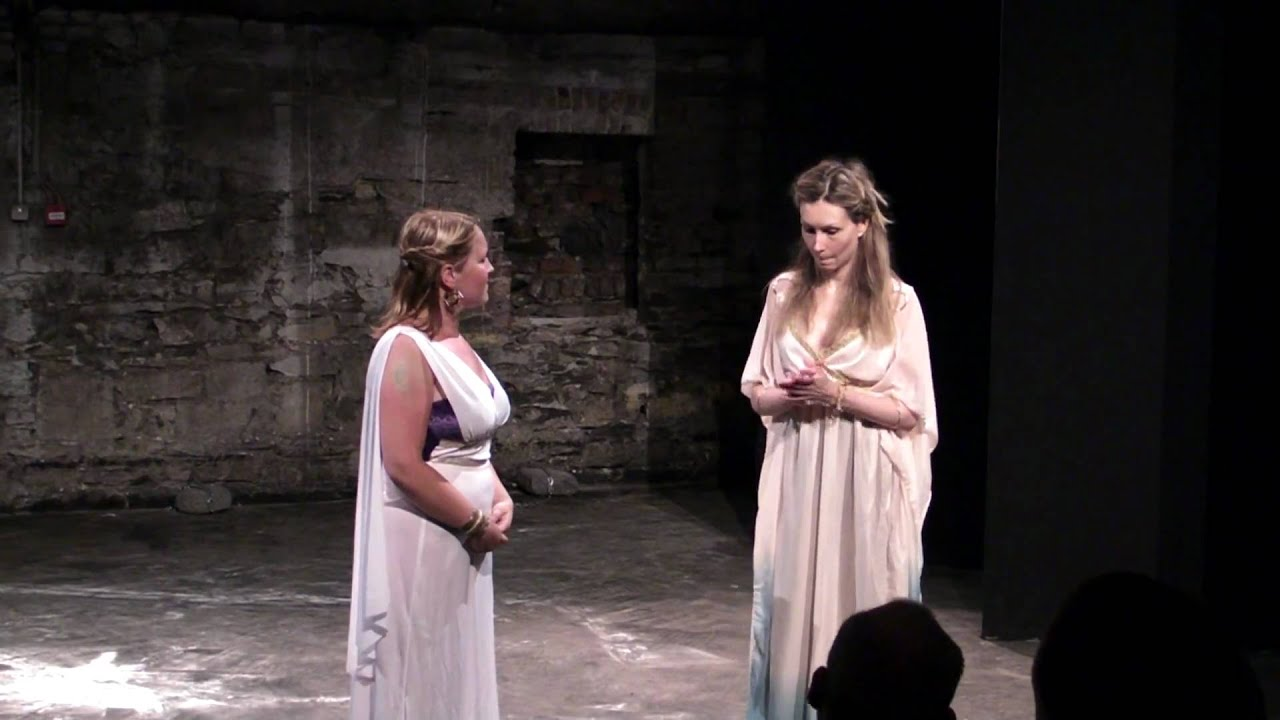 What are Creon's views on women and femininity?