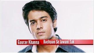 Gaurav Khanna Childhood Pictures (Bachpan Se Jawani Tak)