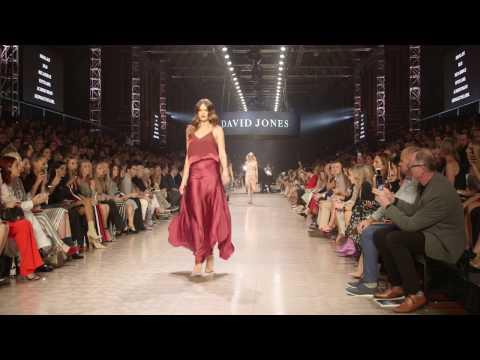 Jesinta Franklin's Runway Looks: Virgin Australia Melbourne Fashion Festival