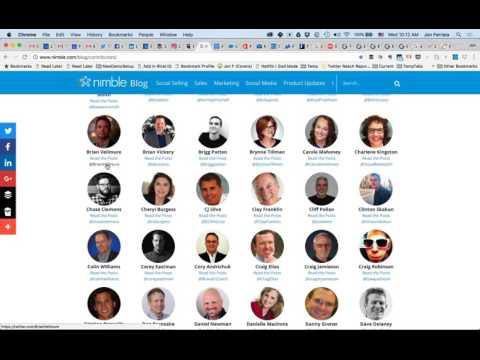 Combine Twitter + Nimble for Effective Lead Generation