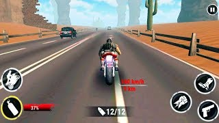 Highway Stunt Bike Riders - Gameplay Android game - bike racing game