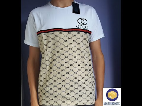 eefa4a9d9107 Unboxing Camisa Gucci - YouTube