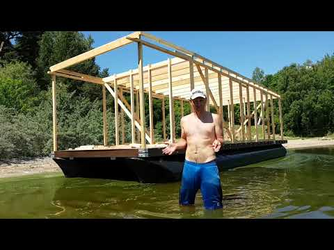 KAUNAS-MARSEILLE. 4 серия. Как построить корабль.(Хаусбот). Плавучий дом. Houseboat. Gotravel.tv
