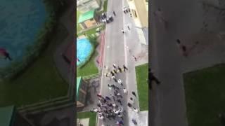 Кавказская свадьба в  центре Москвы 07.07.2017
