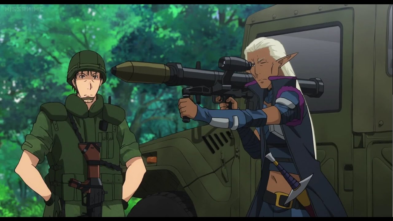 Top 8 Military Anime