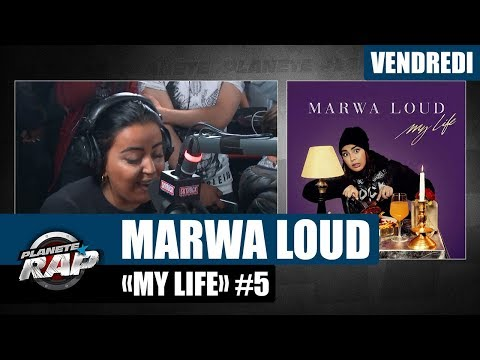 Youtube: Planète Rap – Marwa Loud « My Life » #Vendredi
