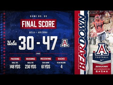 Highlights: Tate, Cats Run Wild in 47-30 Victory vs. UCLA
