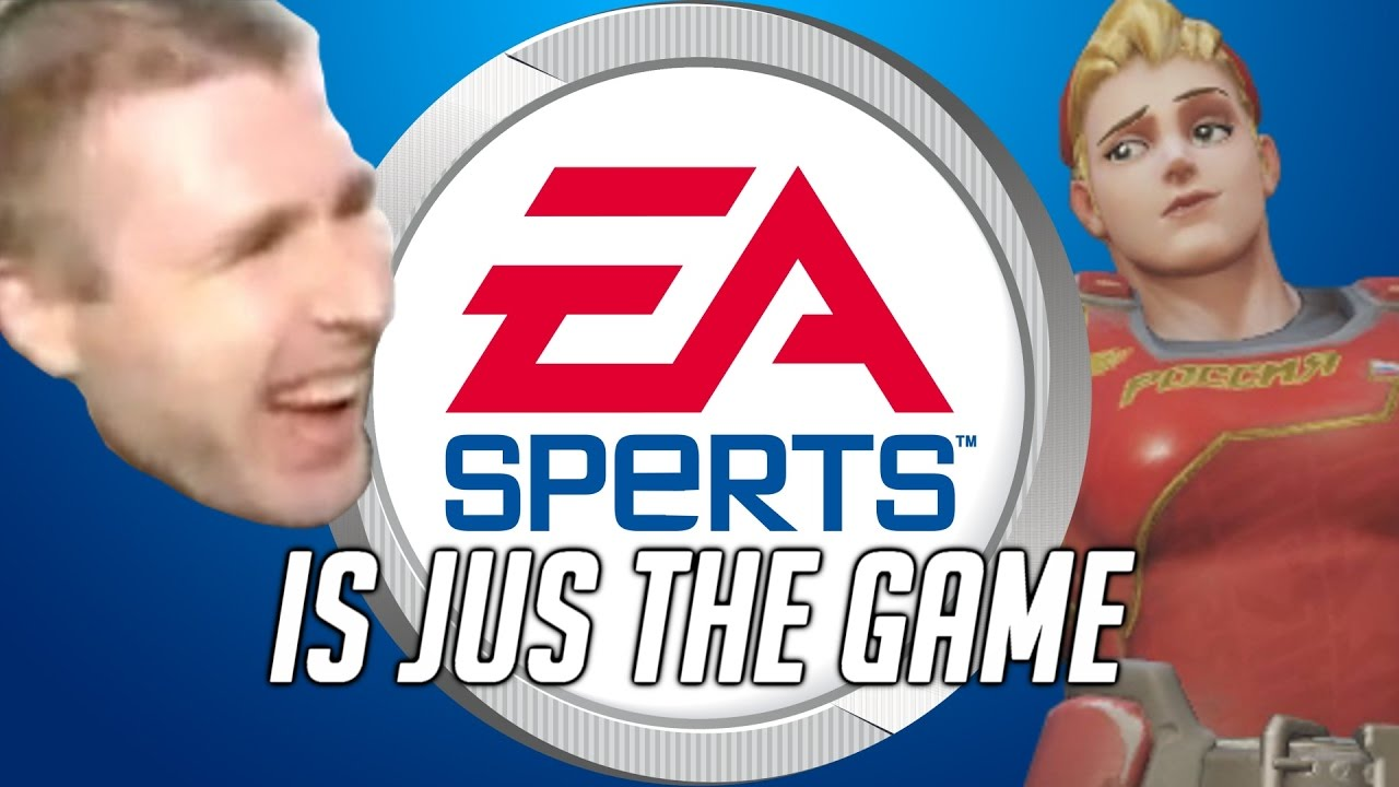 ea sperts is jus game