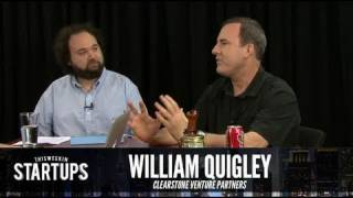 - Startups - News Roundtable with William Quigley and Tammy Camp