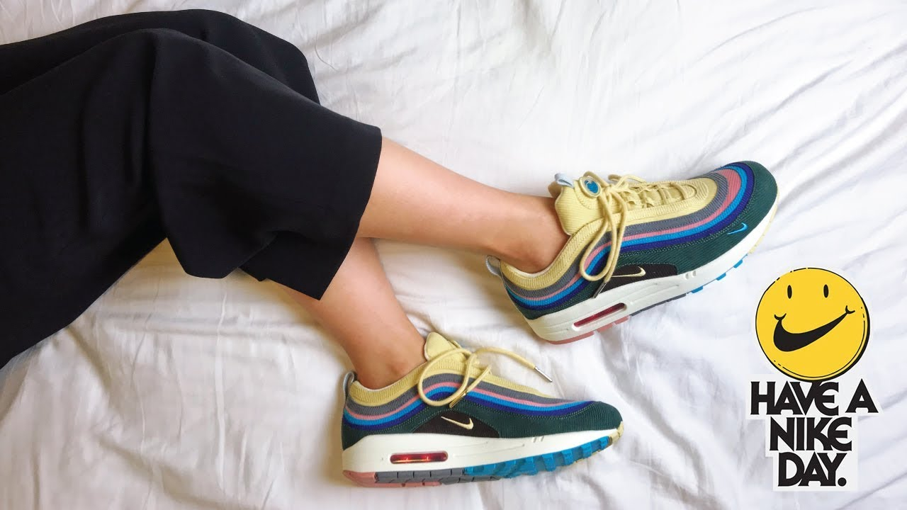 aad51649 SEAN WOTHERSPOON AIR MAX 1/97 | WHERE TO COP | UNBOXING + ON FEET ...