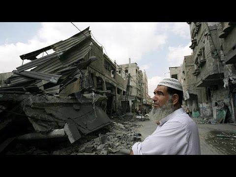 Gaza city: civilians seeking refuge killed by air strike