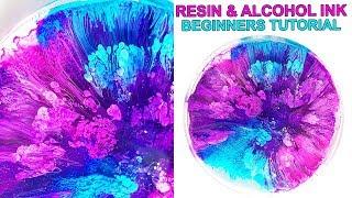 Resin Petri Dish & Alcohol Ink Tutorial BASICS