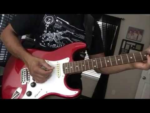 I put a spell on you guitar solo