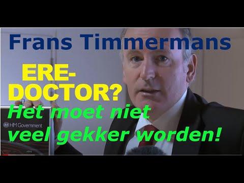 'OVERWELDIGEND BEWIJS' (van het onbenul van staatssecretaris Timmermans)