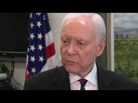 Orrin Hatch interview, part 1 of 2