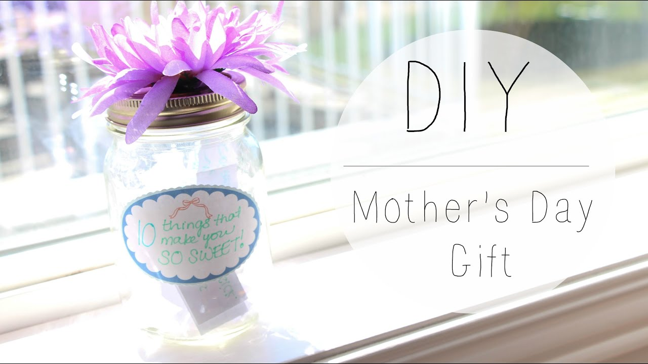 10 Things Mason Jar Easy Diy Mother 39 S Day Gift Youtube