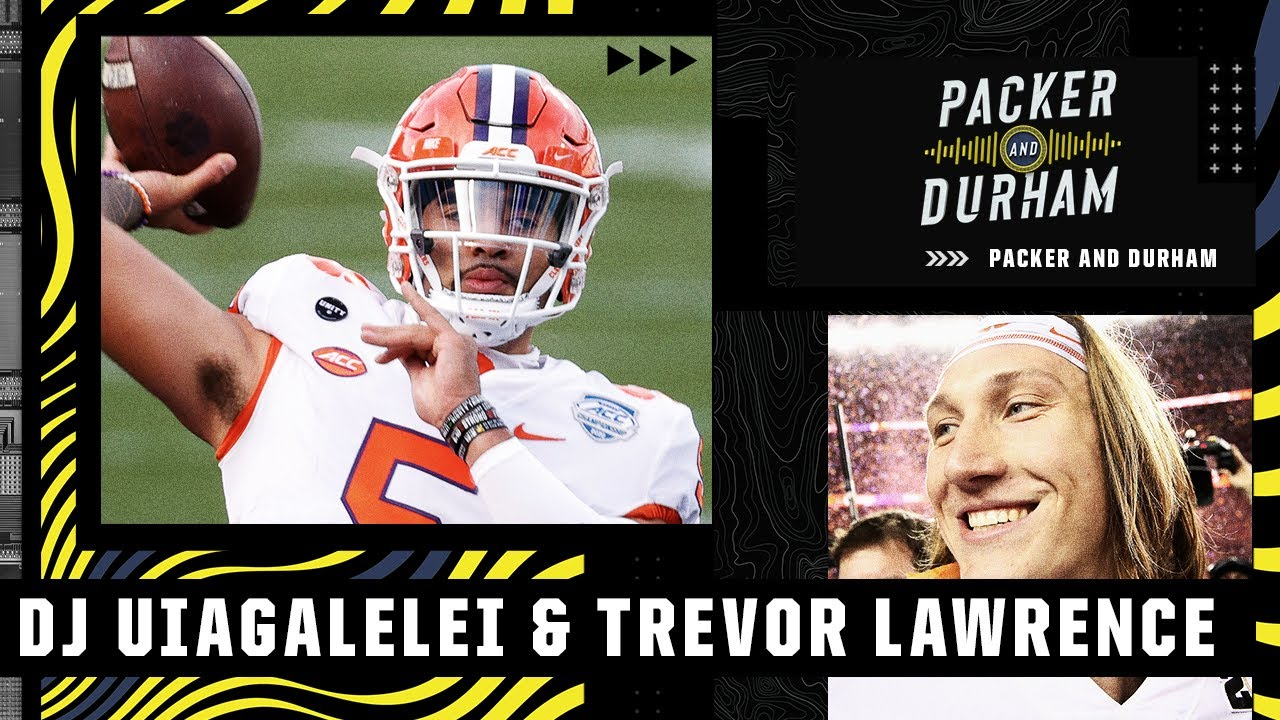 Comparing DJ Uiagalelei to Trevor Lawrence | Packer and Durham