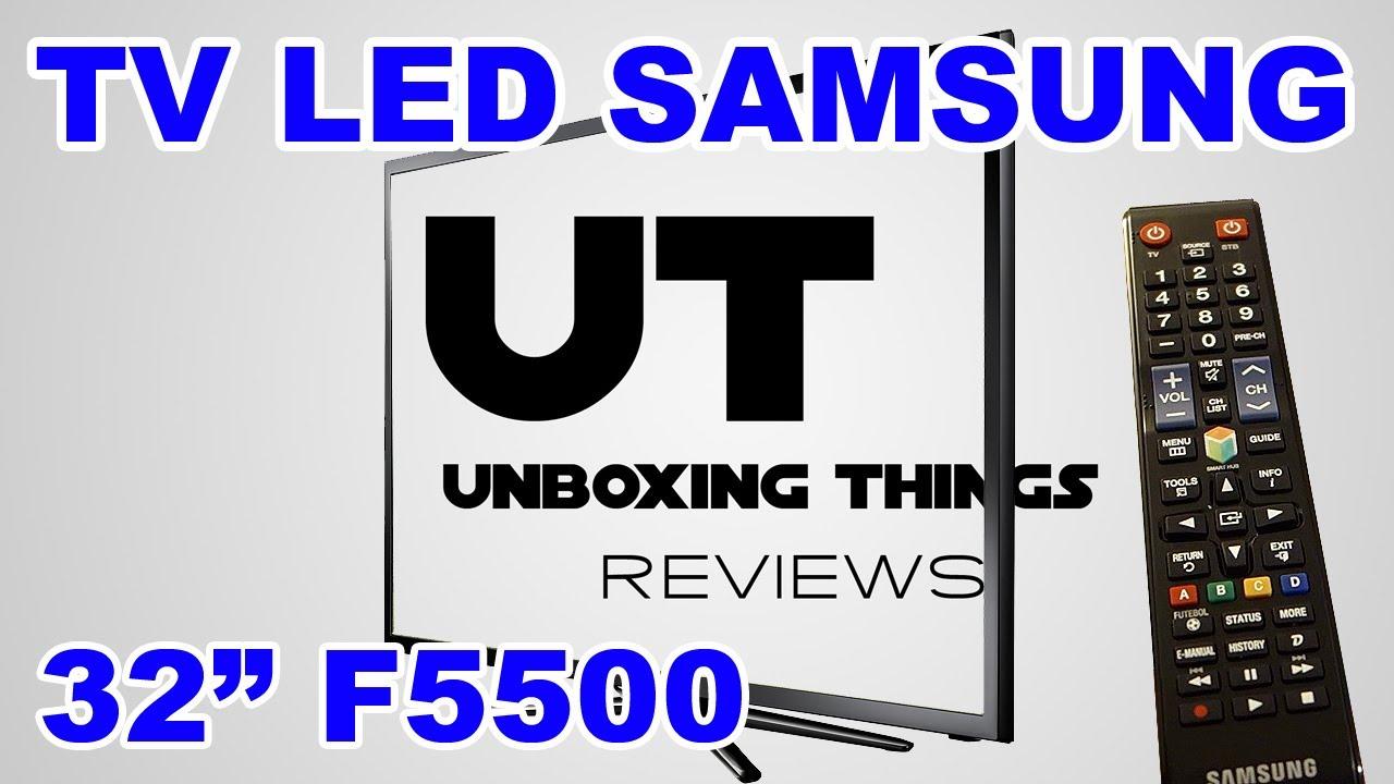 smart tv samsung un32f5500 fullhd 120hz netflix primeiras impress es youtube. Black Bedroom Furniture Sets. Home Design Ideas