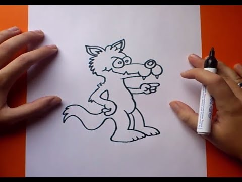 Como Dibujar Un Lobo Paso A Paso 3 How To Draw A Wolf 3 Youtube