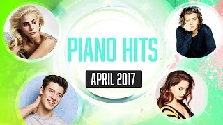 Piano Hits April 2017 (Pandapiano) 1 HR of pop piano music great for study
