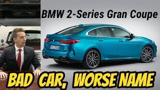 "Dear BMW: Stop Calling 4 Door Vehicles ""Coupes"" Especially The New 2-series"
