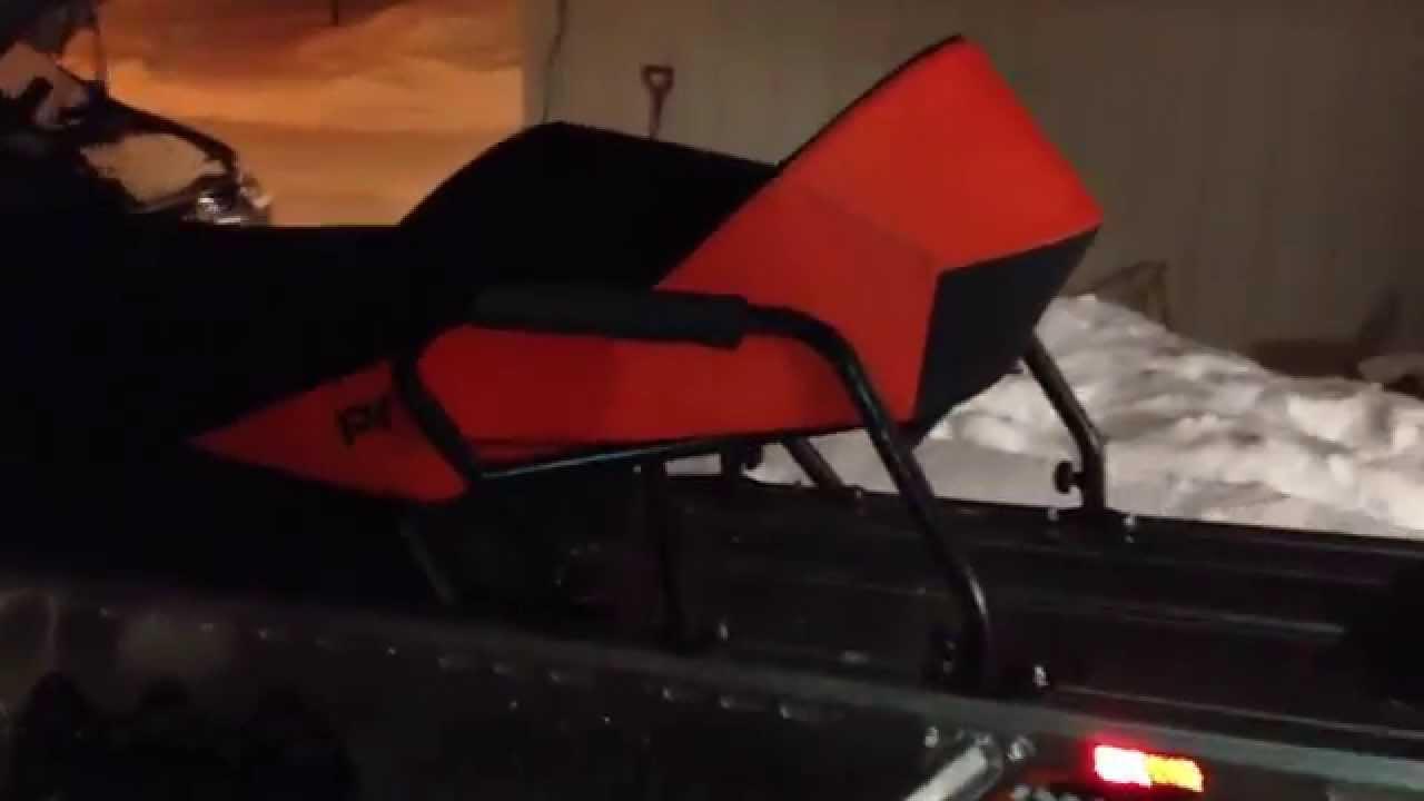 2 Up Seat Polaris Switchback RMK Indy 2009 2010 2011 2012 2013 Hanngrensnu