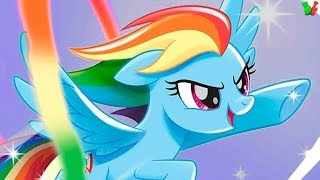 ПОНЯШКИ Радужные гонки #1 - My Little Pony Rainbow Runners - Мультик Игра для Детей