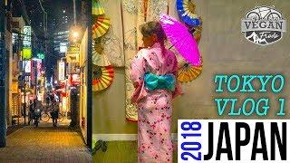 Tokyo VLOG Day 1 - Trains, Vegan food, Photography exhibit II Japan Travelling
