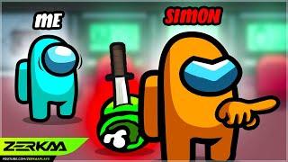 I Saw SIMON KILL Someone But I Said NOTHING... (Among Us)