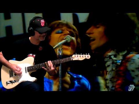 Silver Train live Subtitulada Rolling Stones & RollingBilbao 2016 guitar cover HD