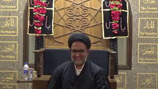 Majlis 02_'Tawheed - Importance and need in our society' by H.I. Maulana Sayed Ahmed Ali Abedi Sahab
