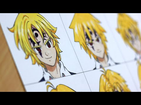 Drawing Meliodas In Different Anime Styles