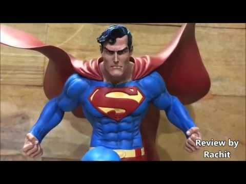 DC Collectibles Batman Superman Wonderman Set of 3 Statues By Jim Lee