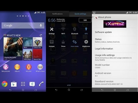 Root / Custom-ROMs / Modding für Sony Xperia Z