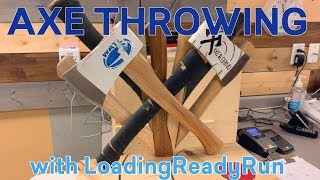 Axe Throwing with LoadingReadyRun