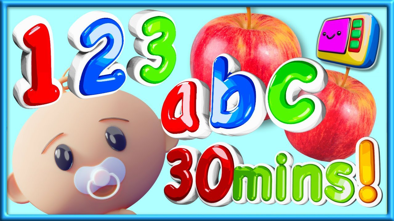 ABC's 123's | Toddler Time TV | Learn Numbers, Counting and the Alphabet