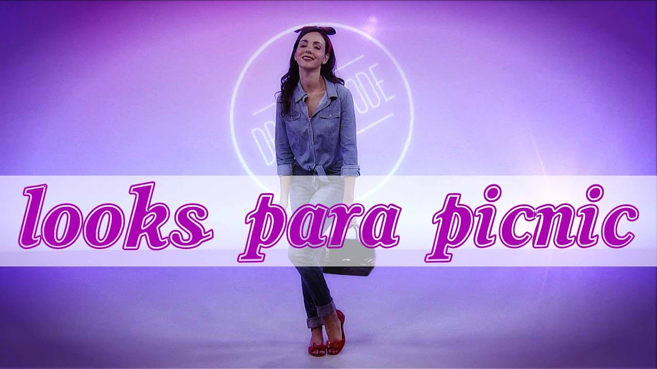 644eef225 4 looks ideales para un picnic – Dress Code - YouTube