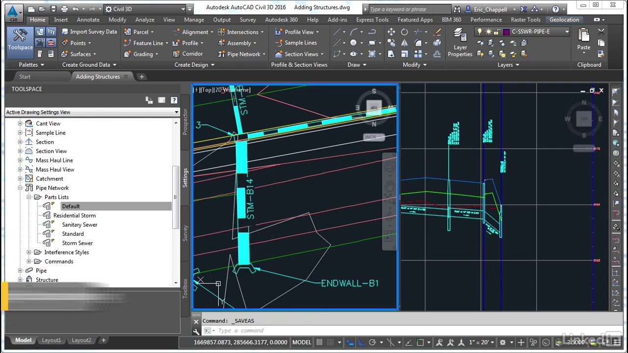 Civil 3D: Designing Gravity Pipe Systems | Adding parts to a part family