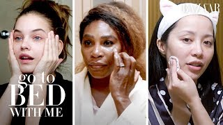 Everything We Learned About Skincare in 2019 | Go To Bed With Me | Harper's BAZAAR