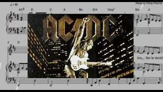 AC/DC - All Screwed Up (Guitar Tabs And Sheet Music)