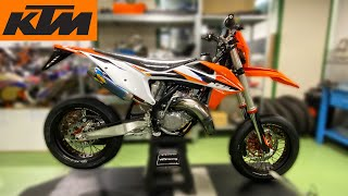 KTM 125 SX 2021 Supermoto Project